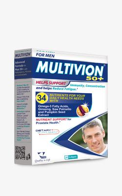 VitanePharma Multivion Men 50+