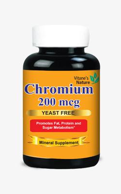 Chromium-cap